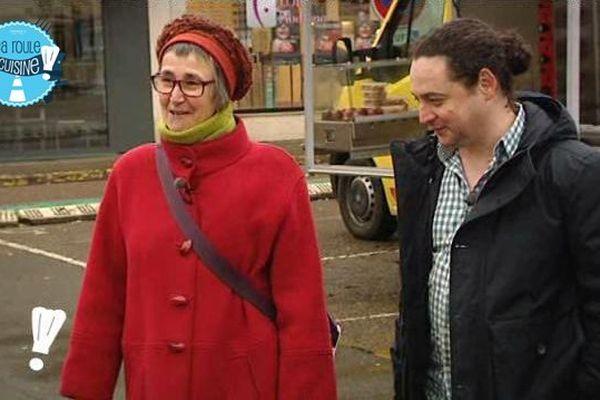 Valérie Loescher et Romain Deplaine