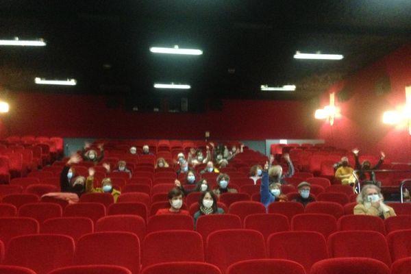 Une cinquantaine de spectateurs par séance ont pu assister à la projection de deux films ce dimanche à Saint-Renan