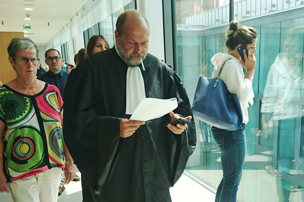 Eric Dupond-Moretti, avocat d'Eric Mosser