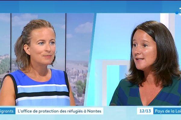Johanna Rolland, invitée du journal du 22 août, sur la question des migrants du square Daviais