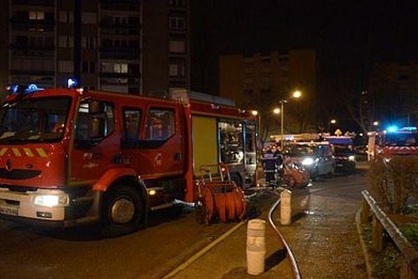 Les pompiers de Saône-et-Loire en intervention (Image d'archives)