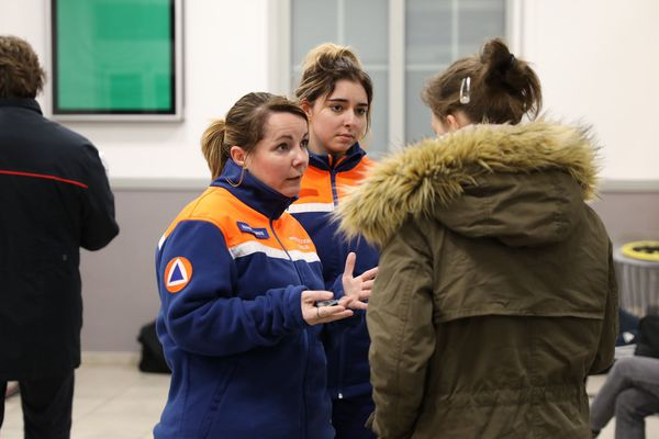 Une cinquantaine de personnes ont été prises en charge par la protection civile de Haute-Marne à St Dizier ce dimanche 9 février.