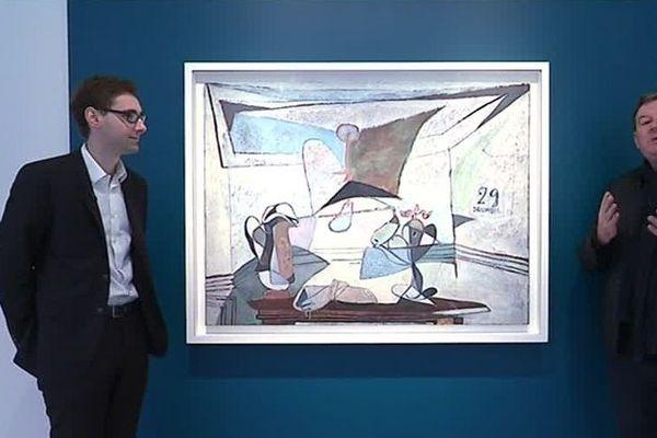 Nature morte à la lampe, Picasso, 1936.