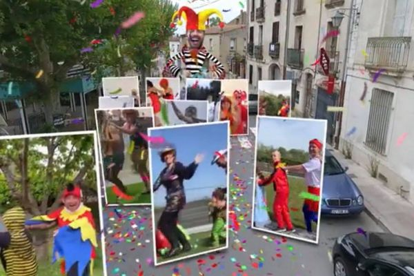 Le cortège carnavalesque a parcouru les rues d'Aniane - 19.04.20