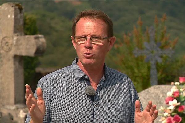 """Jean-Michel Teulière, un """"éternel positif localement"""" pour la planète."""