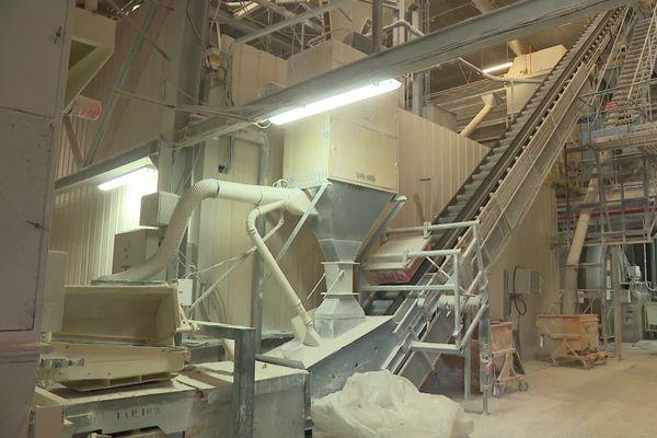L'usine Imerys d'Aixe-sur-Vienne fabrique de la pâte de porcelaine