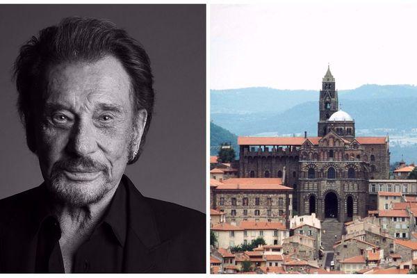Une admiratrice du chanteur a proposé au recteur de la cathédrale du Puy-en-Velay de consacrer sa messe à Johnny Hallyday,  samedi 16 décembre.