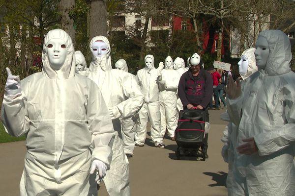 Les Masques Blancs défilent ce samedi 20 mars au Jardin des Plantes de Nantes