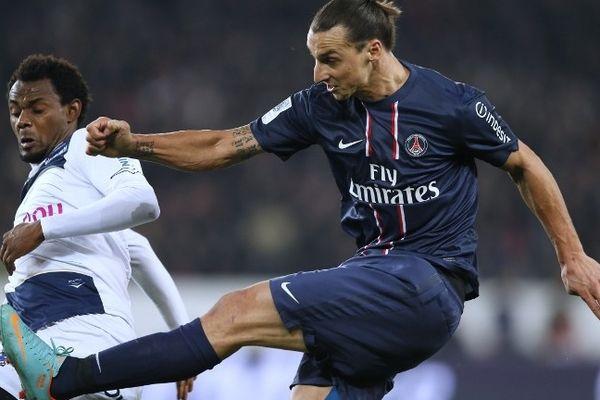 L'attaquant Zlatan Ibrahimovic aura eu raison du groupe troyen. Il marque deux buts (70' et 89')