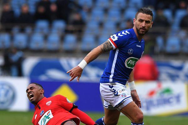 Anthony Gonçalvès, né à Chartres, fait des étincelles en Ligue 1 avec le Racing Club de Strasbourg Alsace