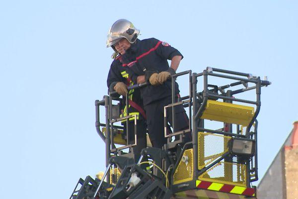 Intervention des sapeurs-pompiers - La Rochelle