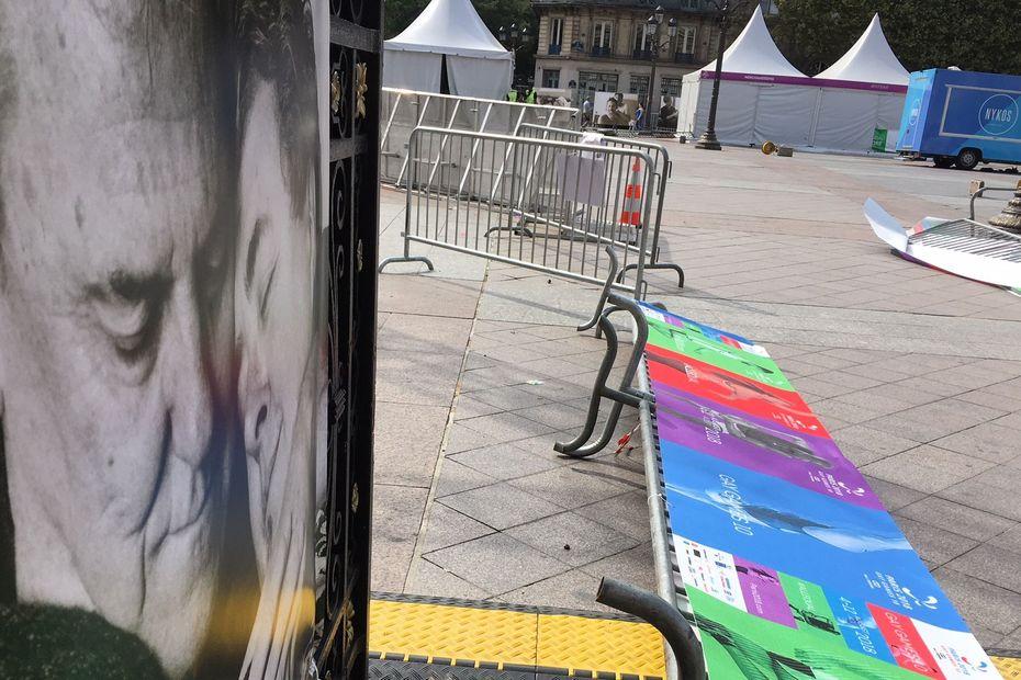 Gay Games : le village sur le parvis de l'Hôtel de ville de Paris évacué