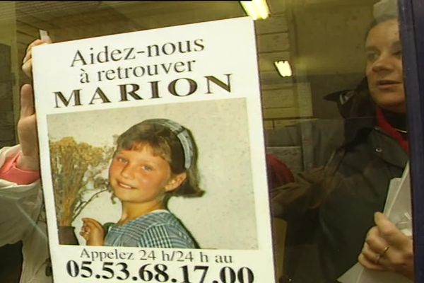 25 mai, Journée internationale des enfants disparus - Marion, disparue à Agen en 1996