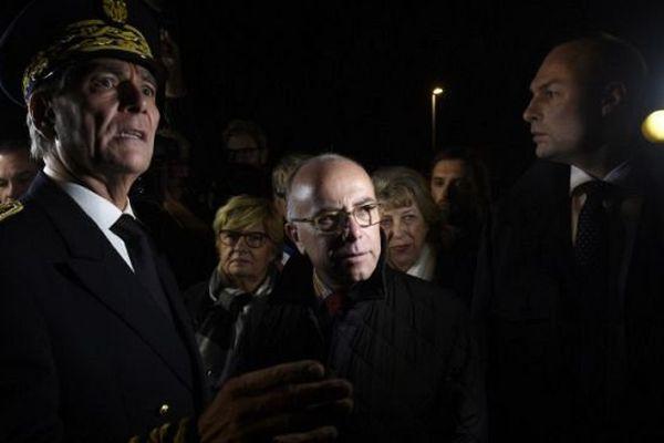 A Moirans, le mercredi 21 octobre, le ministre de l'Intérieur et le préfet de l'Isère