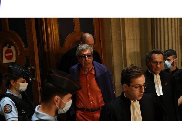 Patrick Balkany était présent ce mercredi au tribunal pour entendre la décision de la cour d'appel de Paris
