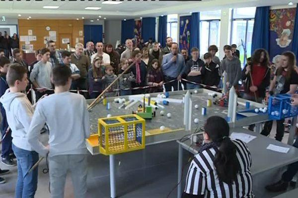 Le challenge robotique au lycée Pierre Méchain à Laon