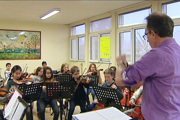 Classe Orchestre à Avallon