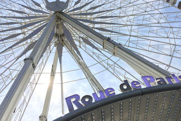 La Grande roue de Paris, le 11 mai 2017.