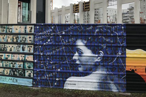 Une palissade de 90 mètres de long relookée par des street-artistes nantais
