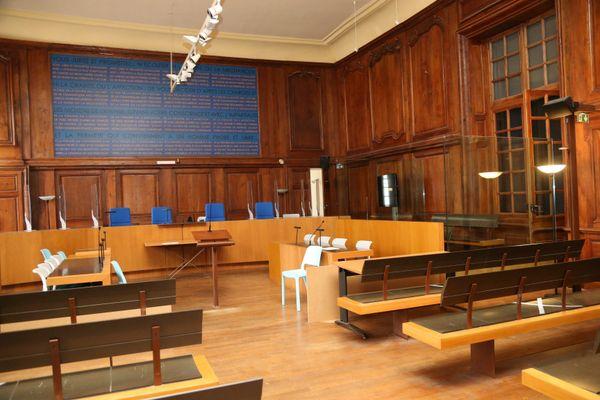 Le procès de Jonathann Daval va se dérouler dans cette salle d'assises.