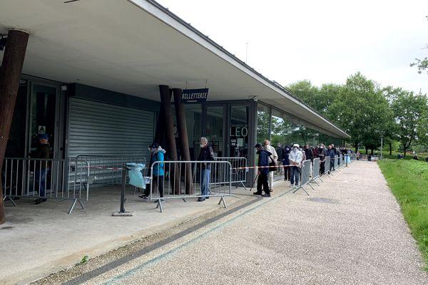 Le complexe René Tys à Reims, fermé au public à compter du 14 octobre.
