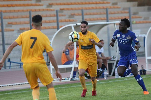 Le SC Bastia en avril dernier opposé à Saint Rémy lors d'un match de National 3