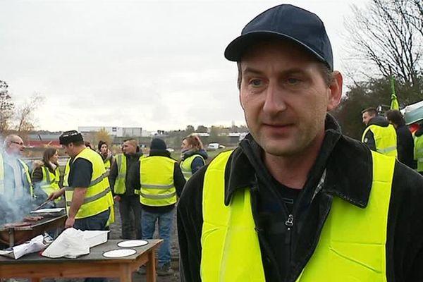 Pierre-Gaël Laveder, le 28 novembre 2018 à Montceau-les-Mines (Saône-et-Loire).