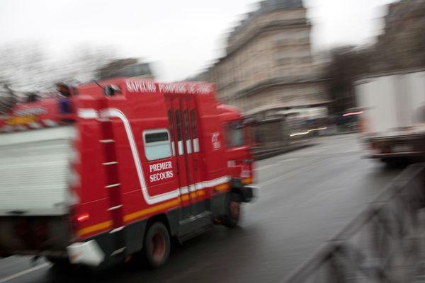L'incendie a touché un restaurant, boulevard Montparnasse (illustration).