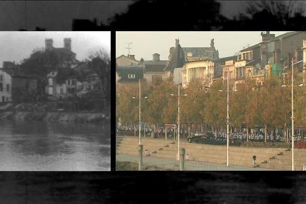 Verdun en 1918 et en 2018