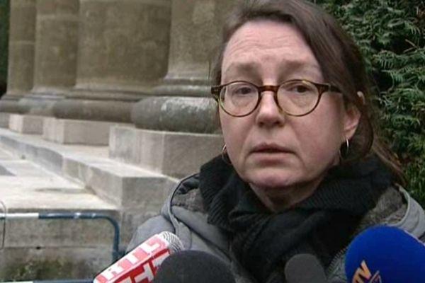 Pour la première fois depuis la disparition de Geneviève, sa mère a accepté de rencontrer la presse jeudi en fin d'après-midi.