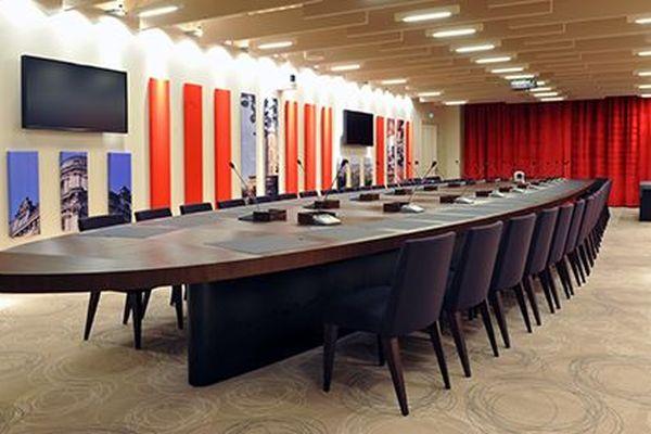 Salle du Conseil de la Mairie de Brive-la-Gaillarde (19).