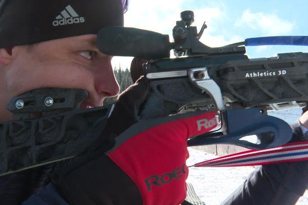 Clément Jacquelin, le frère du biathlète Émilien Jacquelin, fabrique des pièces de carabines de biathlon imprimées en 3D.