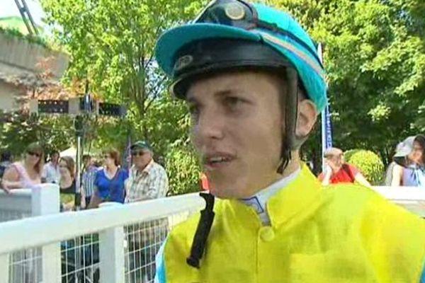 Rudy Pimbonnet, 21 ans, remporte le dernier galop de la saison