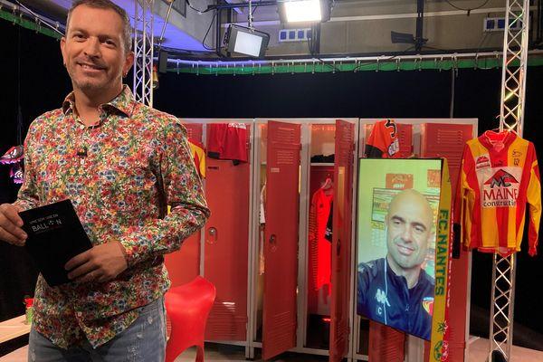 """Cris, l'ancien Lyonnais et actuel entraîneur du Mans FC est l'invité d""""#USBFOOT et d'Anthony Brulez"""