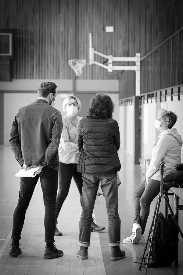 Discussion avec Isabelle Houlet, présidente du club de basket