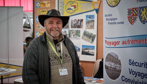 Jean-Claude Heinis Président de la section Bourgogne Franche-Comté de l'ACCCF Auto Caravaning et Camping-car Club de France