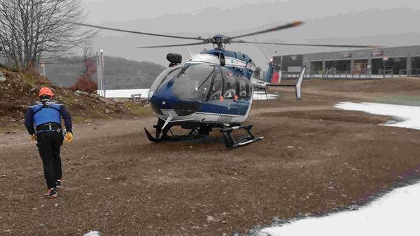 Le choucas 65 au décollage
