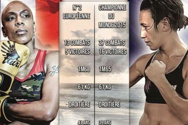 La Clermontoise Myriam Dellal va combattre Taoussy L'Hadji pour un titre de championne de France des poids légers.