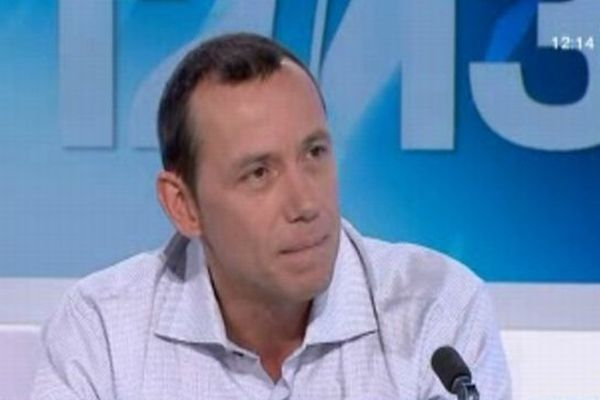 Patrice Canayer, entraîneur du MAHB, invité du 12/13 Languedoc-Roussilon - 20 novembre 2012.