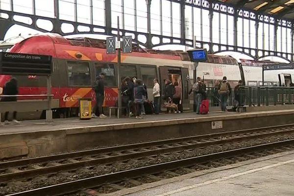Gare de Narbonne, dans l'Aude - 9 avril 2018