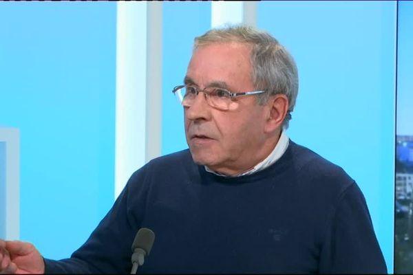 Daniel Boisserie, maire PS de Saint-Yrieix-la-Perche et président de l'asso. des maires ruraux de France pour la Haute-Vienne.