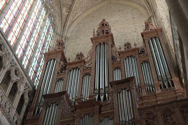 L'orgue de la cathédrale du Mans