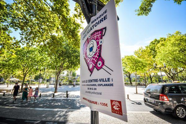 A Nîmes et dans d'autres communes du Gard, de nouvelles mesures restrictives pourraient être prises dès samedi.