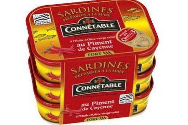 Ce sont des lots de sardines au piment de Cayenne