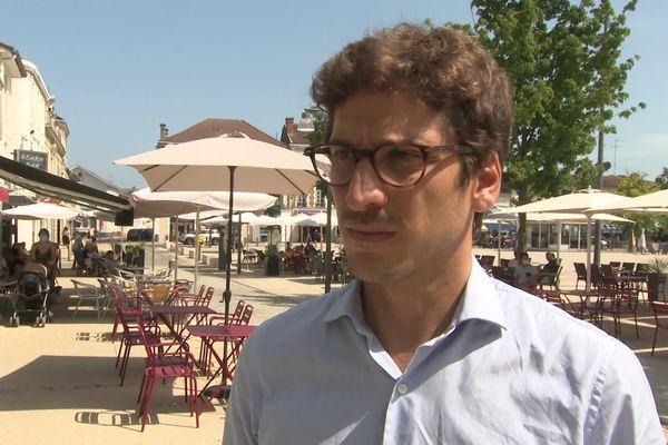 Mathieu Ara est candidat aux élections départementales pour le canton Mont-de-Marsan 1.
