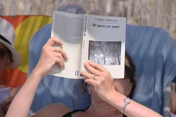 """Les paillottes """"Lire à la plage"""" sont ouvertes tous les jours de 10 à 19 heures"""