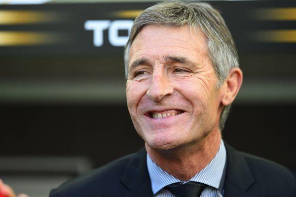 Vincent Merling, le président du Stade Rochelais, est candidat à la présidence de la Ligue Nationale de Rugby.