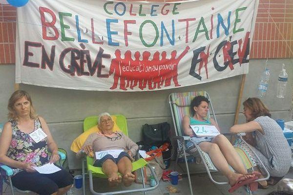 Laure Betbeder et sa mère ont été rejointes par deux collègues, dont Claire (à gauche sur la photo).