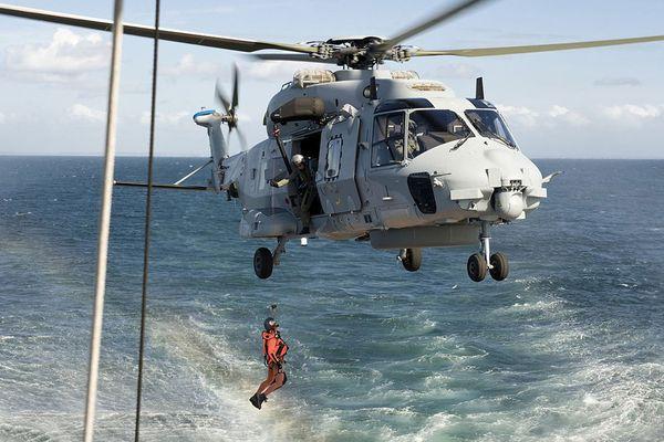 Archives, hélicoptère Caïman de la Marine nationale