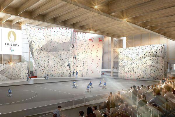 """L'intérieur du """"CIME"""" prévu à Troyes en 2023"""